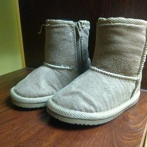Toddler girl warm winter boots size 3